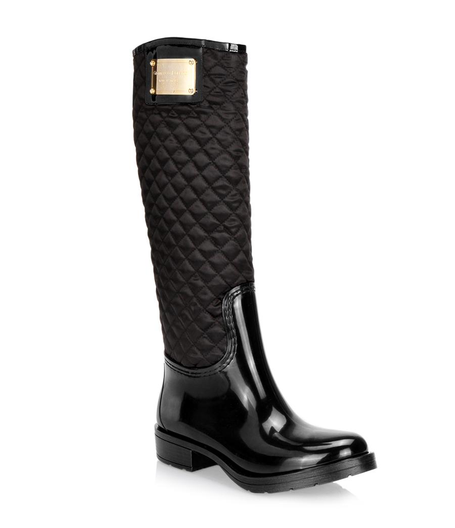 Chez Browns, même les bottes de pluie deviennent un accessoire de luxe.